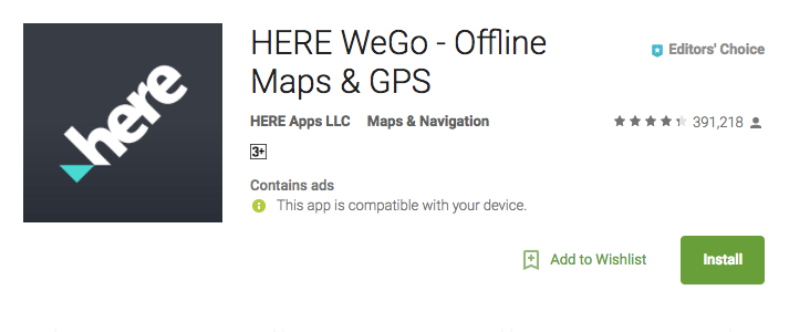 here WeGO 10 android apps youdon't know about