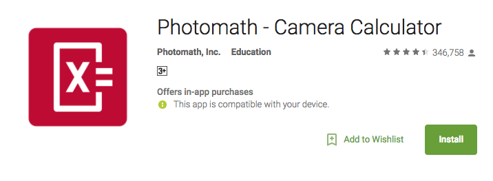 photomath camera calculator 10 amazing apps you don't know about