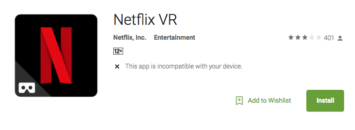 Netflix VR best vr apps android best vr apps iphone best virtual reality apps best google cardboard apps